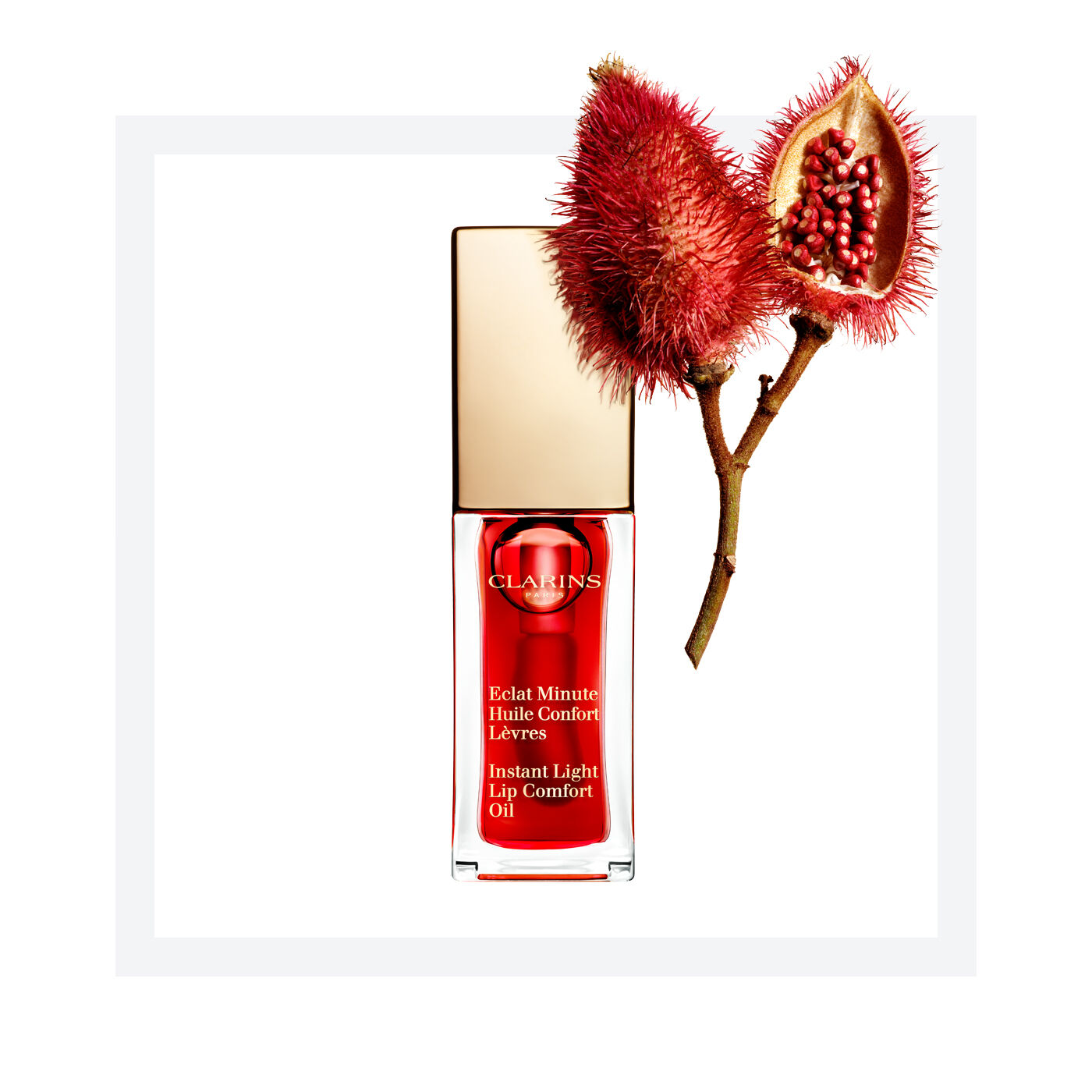 Instant Light Lip Comfort Oil (Red berry)