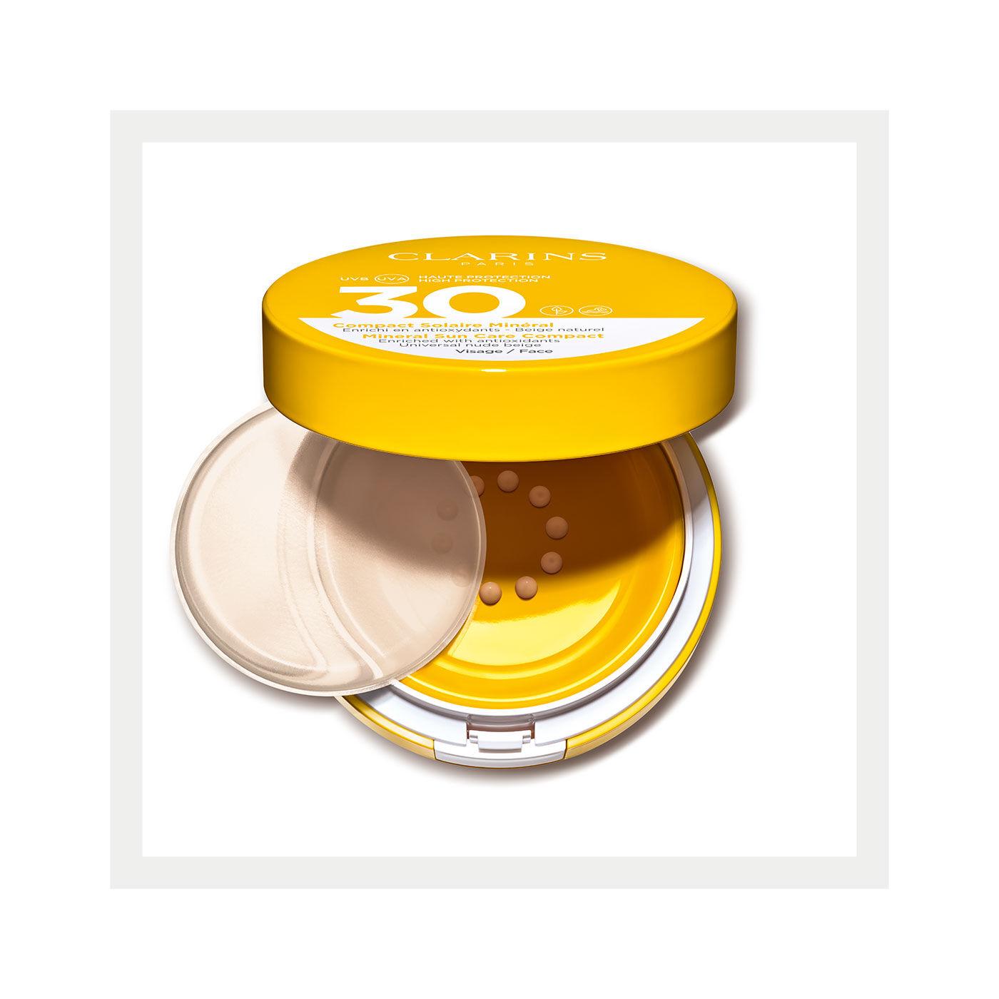 面部礦物防曬粉底SPF30