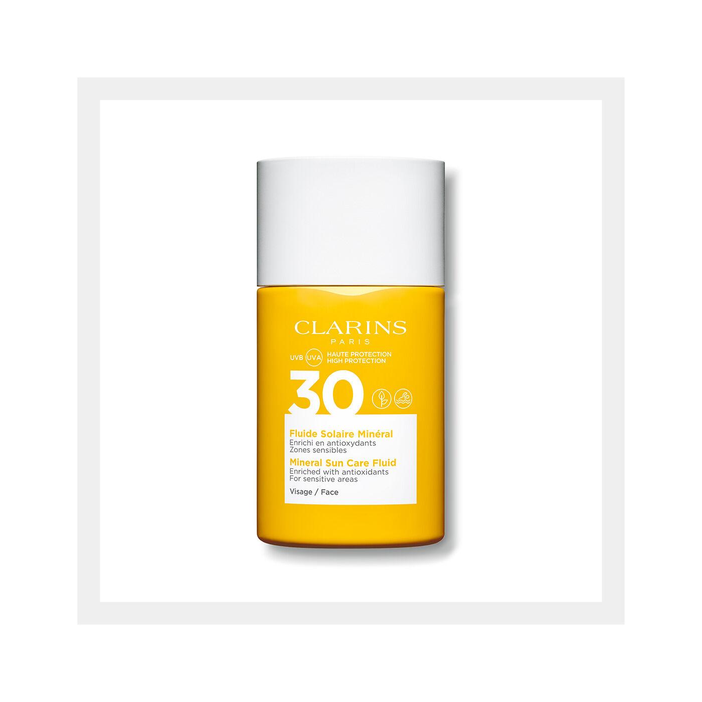 面部礦物防曬乳液 SPF30