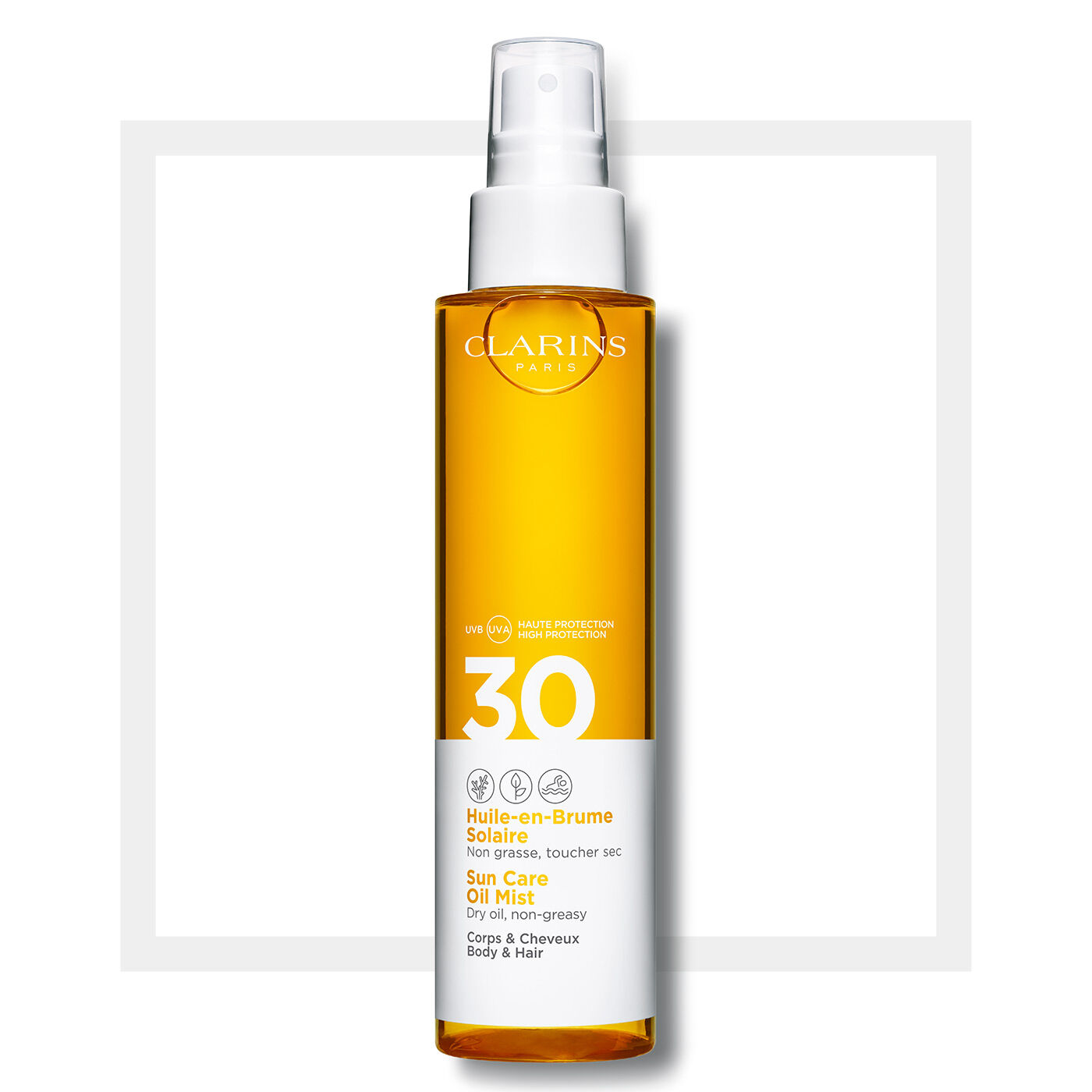 身體防曬油噴霧SPF30