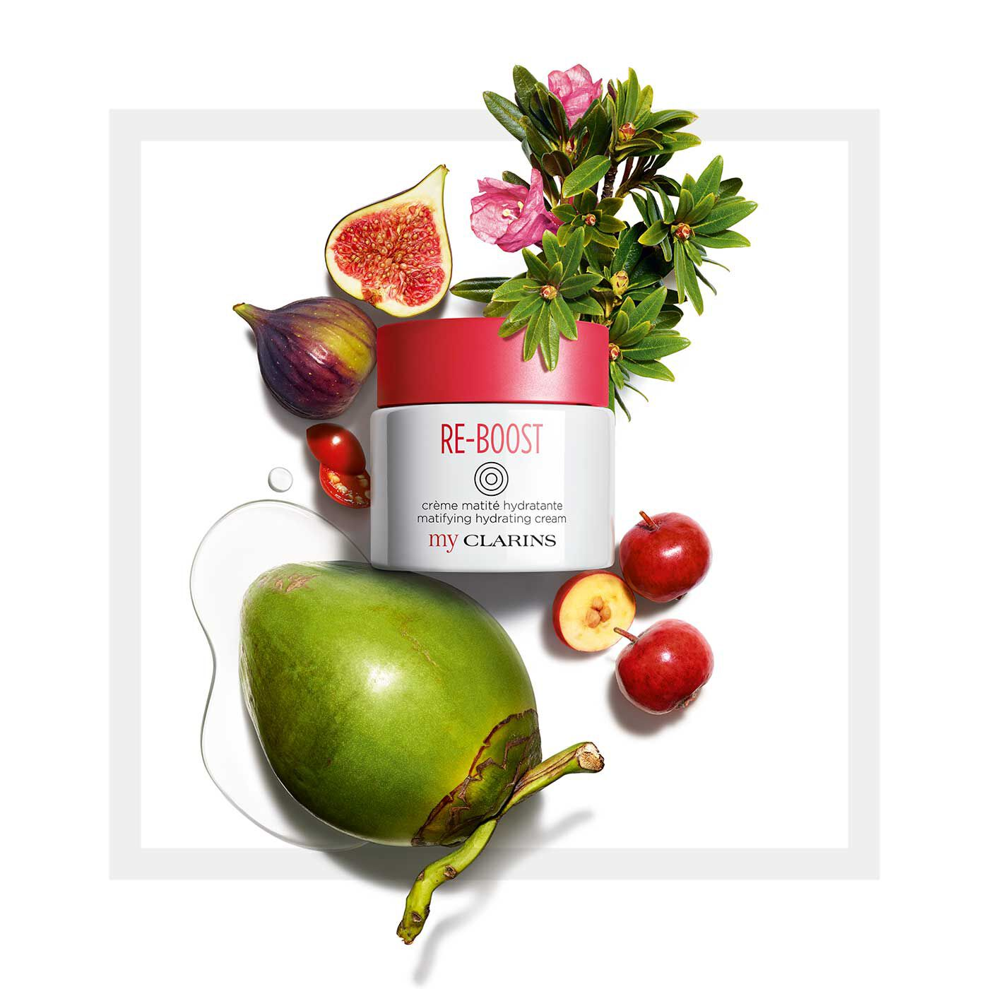 My Clarins RE-BOOST Hydrating Cream for oily skin