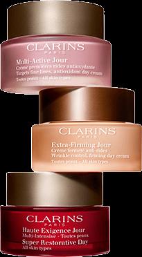 Anti ageing creams trio