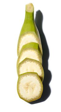 Organic Green Banana
